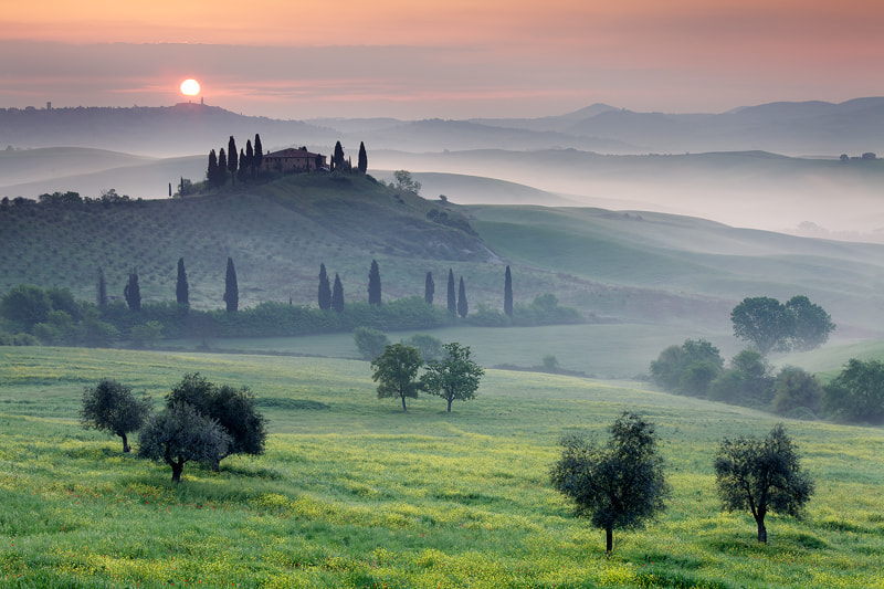 Photograph Tuscan Sunrise by Martin Rak on 500px