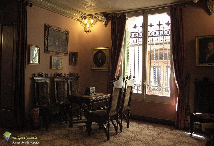 Casa Alegre de Sagrera. Terrassa