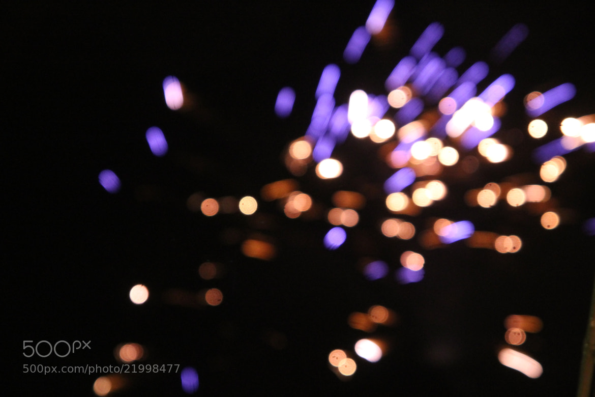Photograph Fireworks out of focus by Rasmus Sjögren on 500px