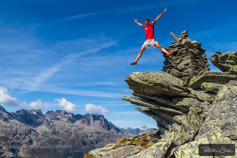 Photograph Having Fun with Kilian Jornet by Tristan Shu on 500px