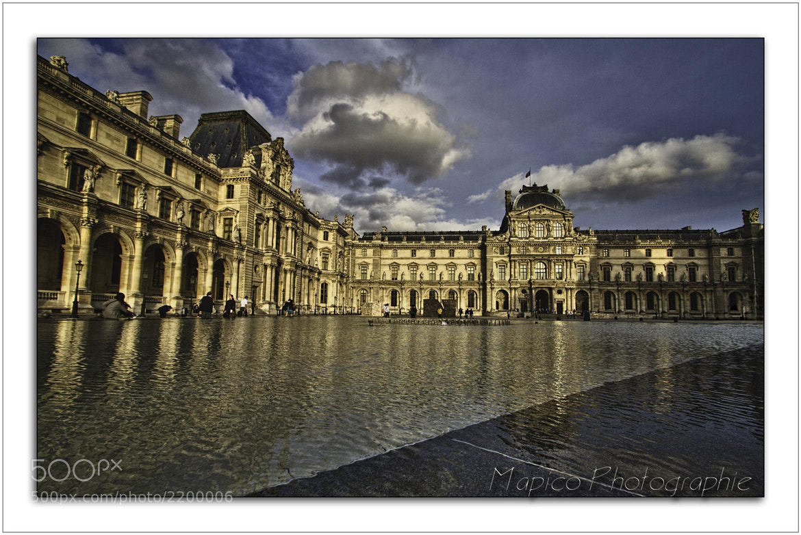 Photograph Paris Le Louvre # 3 by Pierre COURTINE on 500px