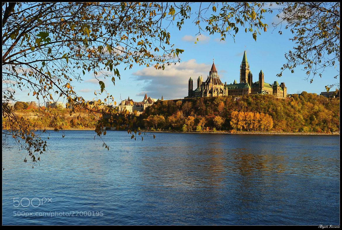 Photograph Ottawa parliament hill by Angelo Ferraris on 500px