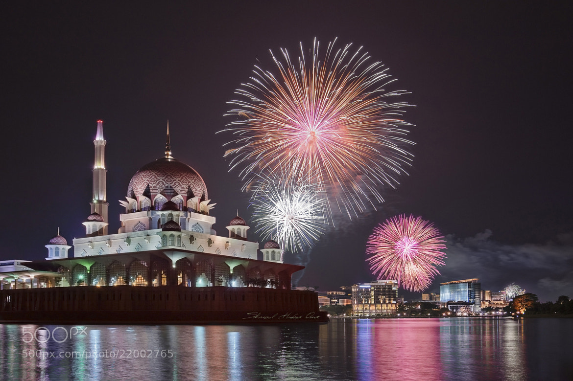 Photograph 2013 New Year Fireworks Putrajaya by Shamsul Hidayat Omar  on 500px