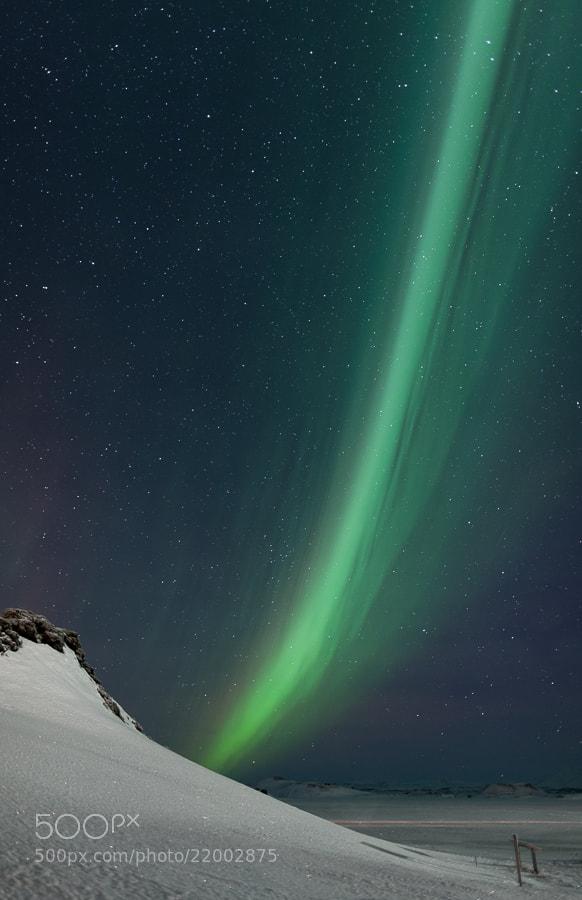 Photograph Aurora beam by John Q on 500px