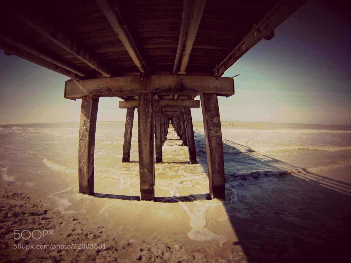 Photograph Under the Pier by Shamrockah Imagery on 500px