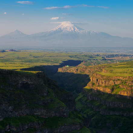 Ararat and Kasakh canyon