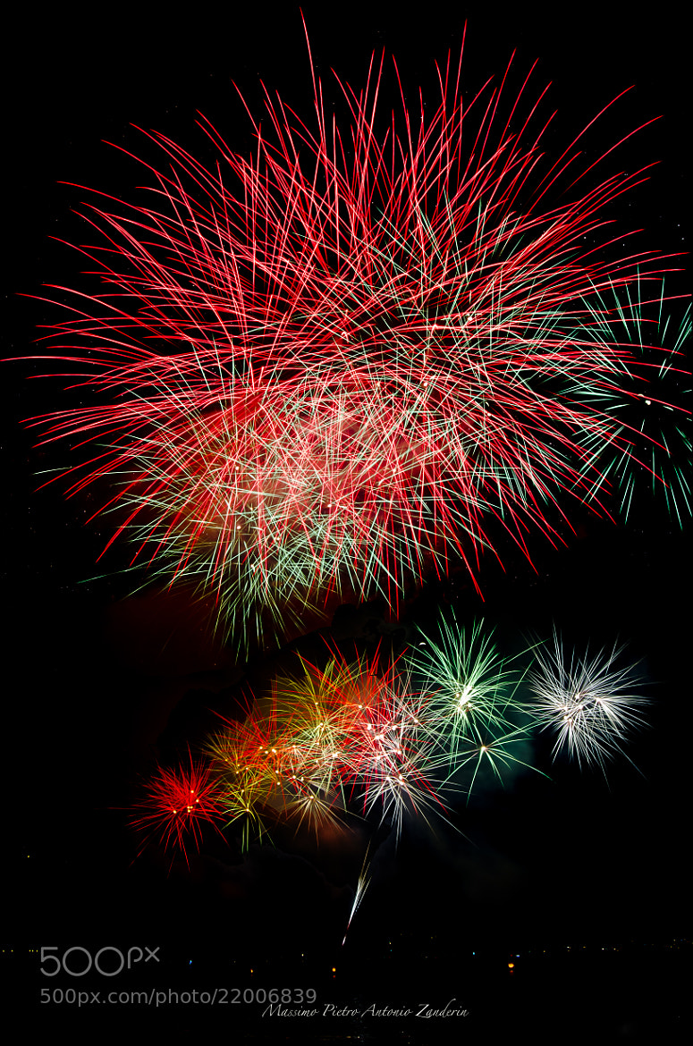 Photograph fireworks by Massimo Pietro Antonio Zanderin on 500px
