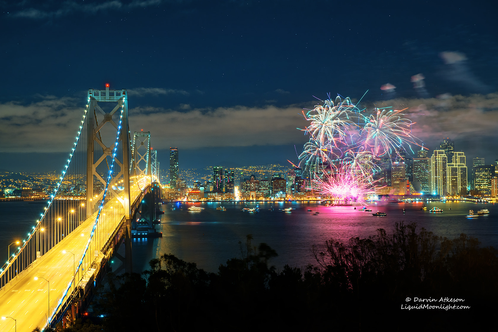 Photograph Happy New Year 2013! - San Francisco Fireworks Display   by Darvin Atkeson on 500px