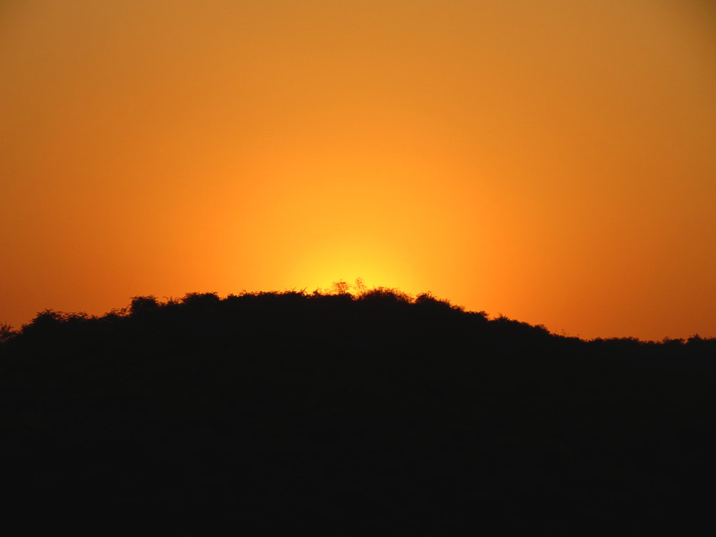 Photograph Hill Silhouette  by Surendra Vikram Singh on 500px