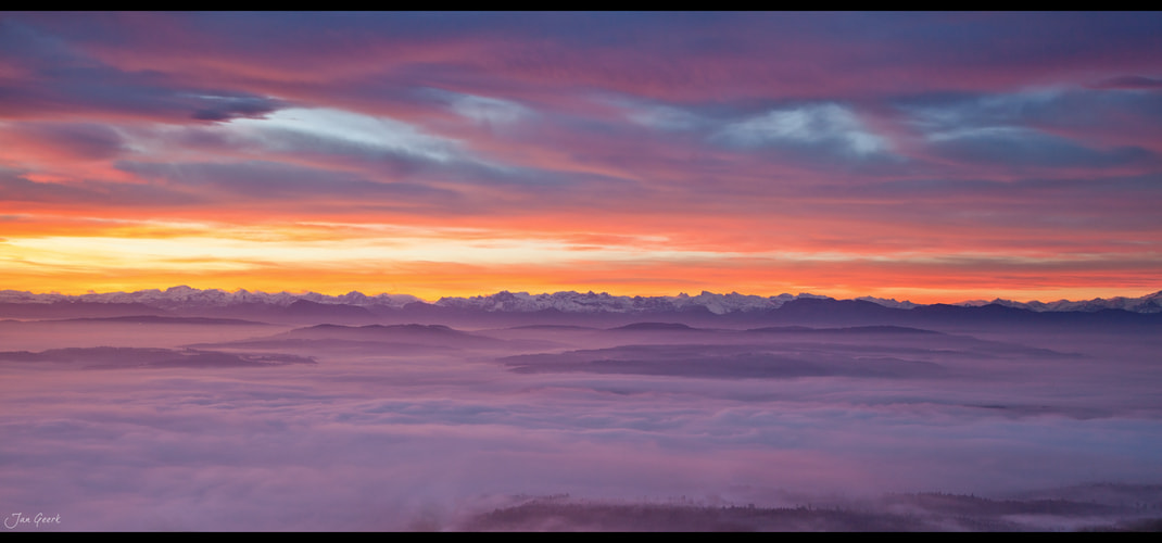 Photograph View to the Alps by Jan Geerk on 500px