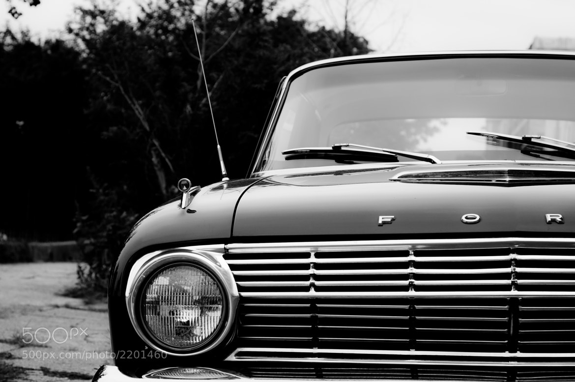 Photograph Old Ford by Julien R on 500px