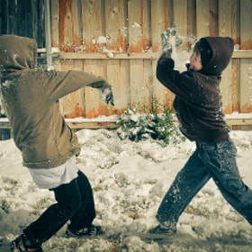 Snowball Fight by Joe Andrews (Thirty12)) on 500px.com