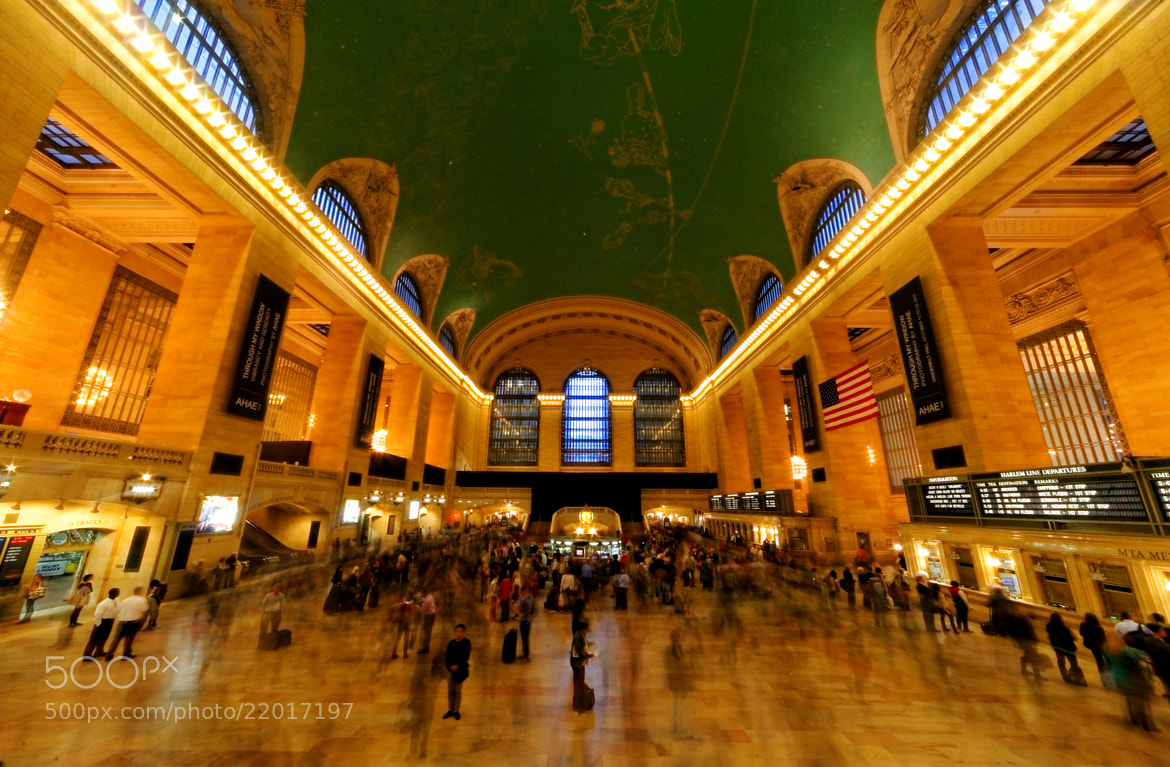 Photograph Grand Central Terminal - New York City by Michael FRANCHITTI on 500px