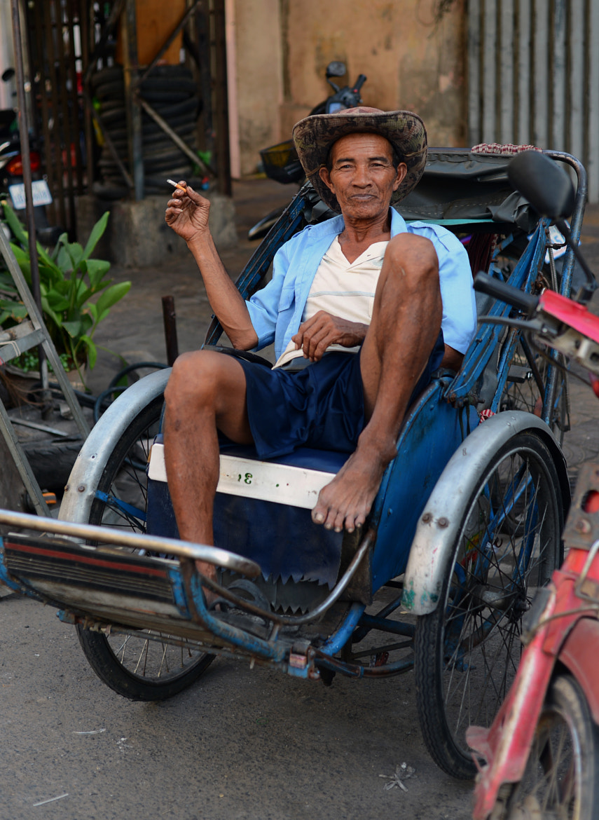 Photograph Cigaratte, Cowboy Hat and my life with a man powered three wheeler by Sangesh Shrestha on 500px
