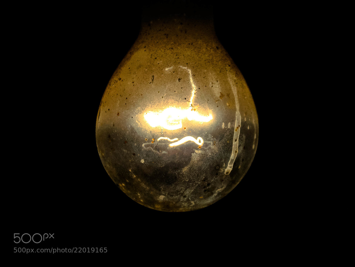 Photograph Lamp In The Dark by Mohamed Aos on 500px
