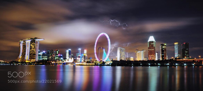Photograph Lightning by Ren Hui Yoong on 500px