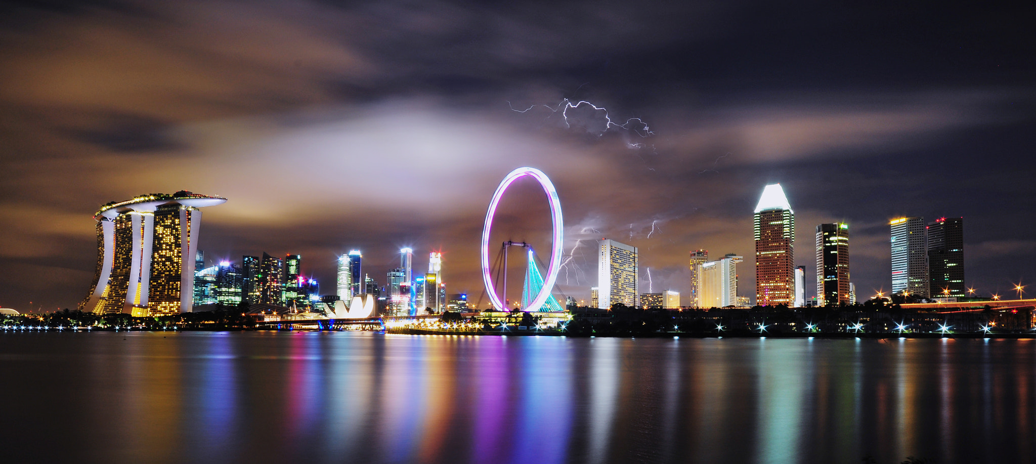 Photograph Lightning by Ren Hui Yoong on 500px