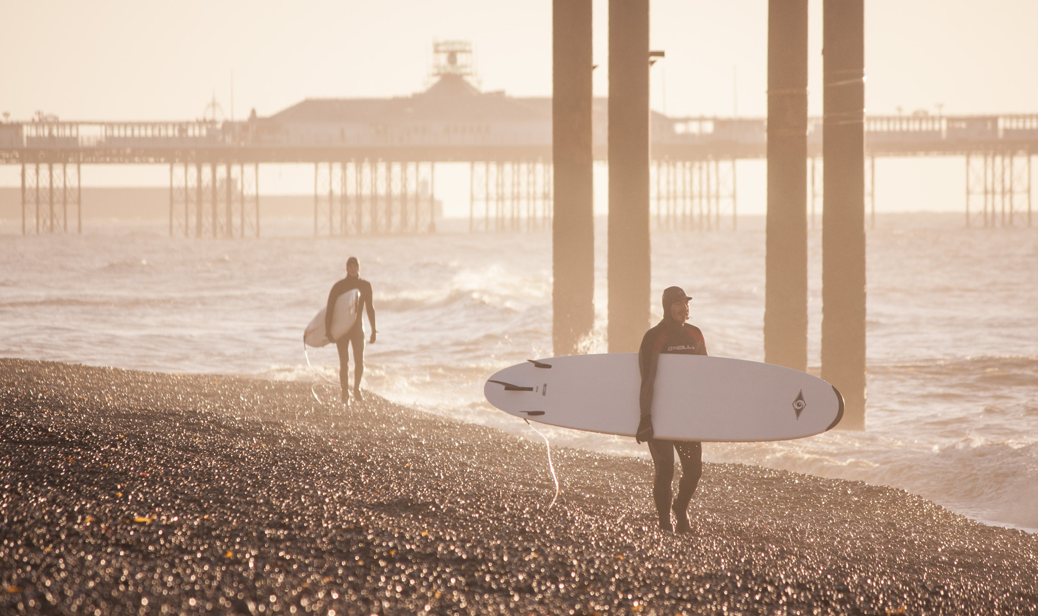Photograph New Year Surfers by David Asch on 500px