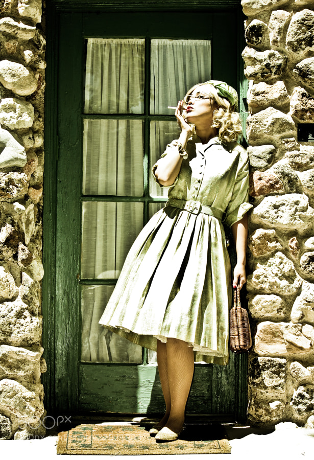 This shot was for Boulder Museum, they had a vintage theme going on.
