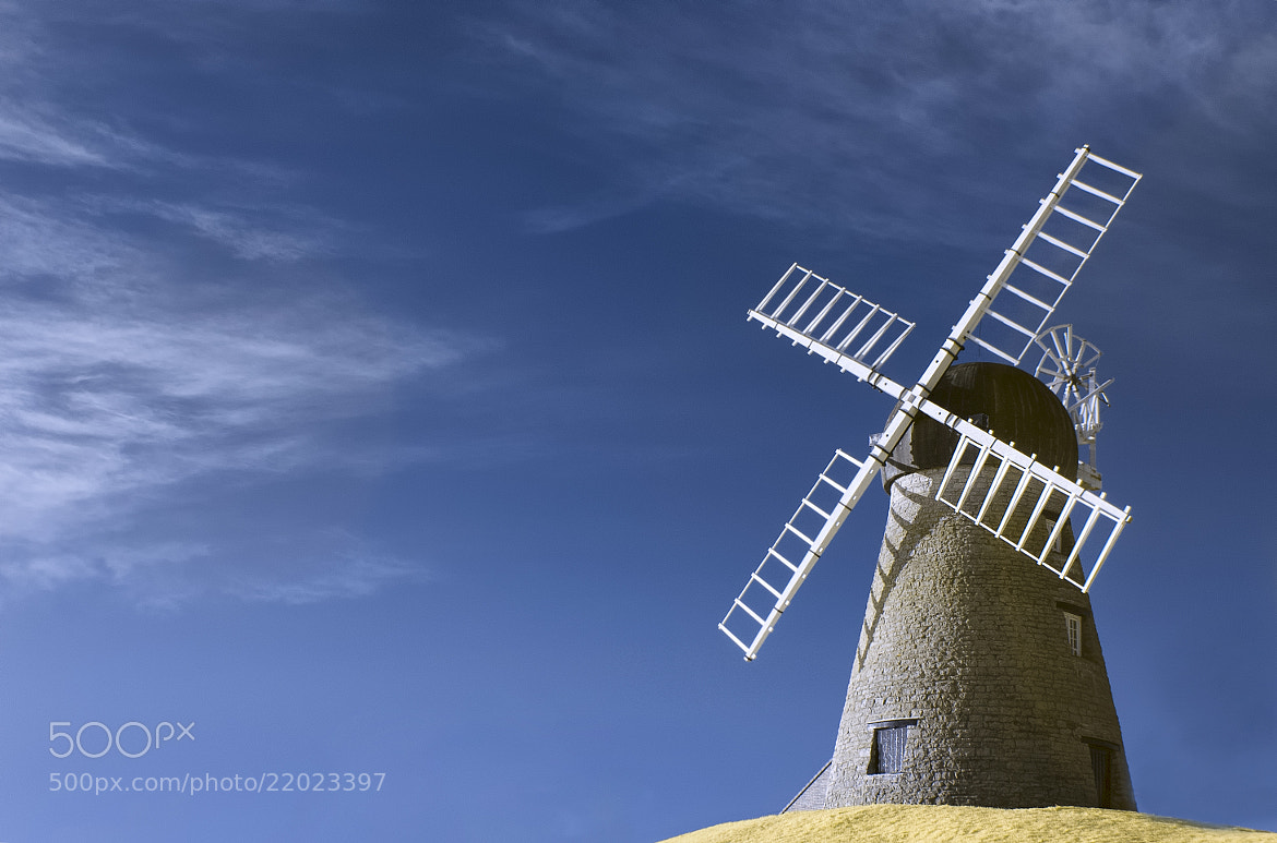 Photograph IR Windmill by Phil Whittaker on 500px