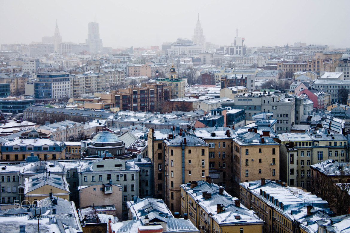 Photograph The roofs of Moscow by 1beavis on 500px