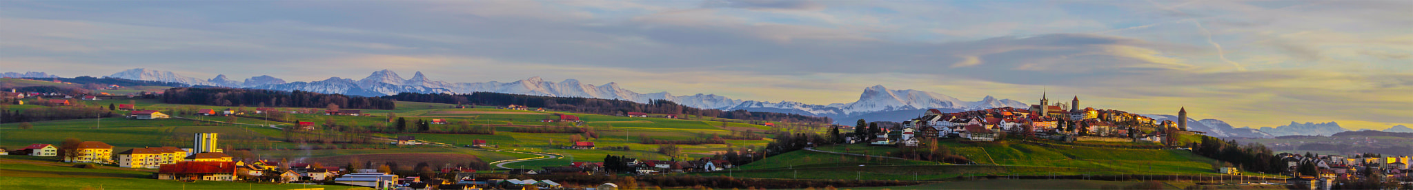 Photograph Panorama @ Romont by Stephan Scherz on 500px