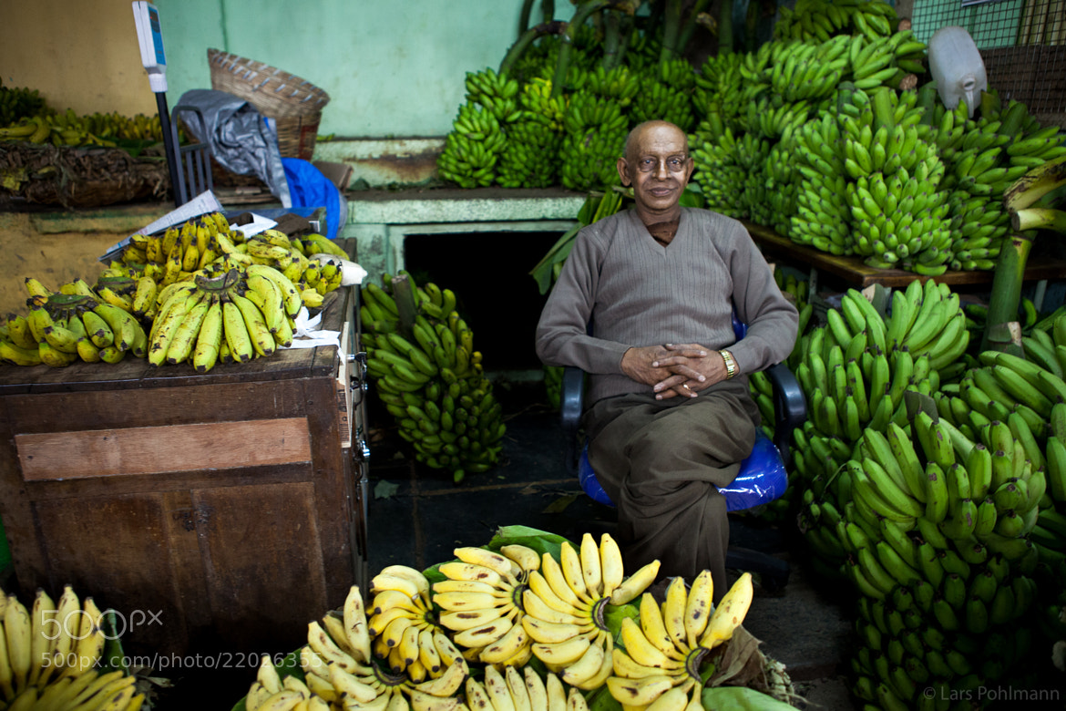 Photograph Banana Salesman in Mysore by Lars Pohlmann on 500px