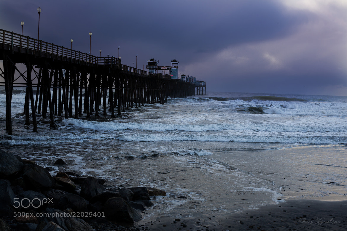 Photograph Oceanside Pier by Chris Harrelson on 500px