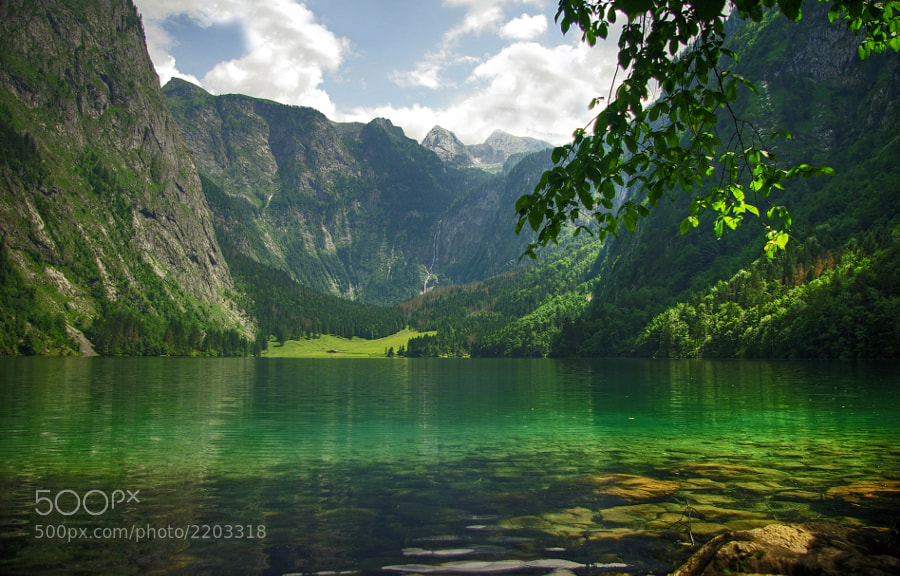 Obersee and Fischunkelalm, Germany