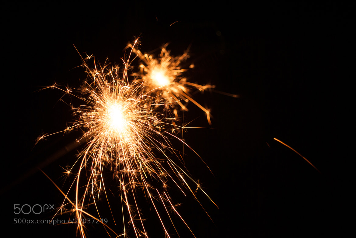 Photograph sparkler by Andy Vobiller on 500px