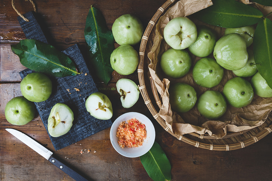 Green Mountain Apple Slices by Thai Thu