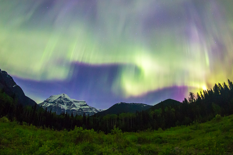 mount robson lights
