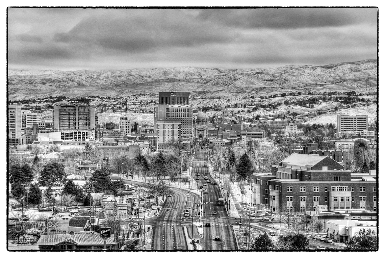 Photograph Boise winter postcard by Chad Estes on 500px