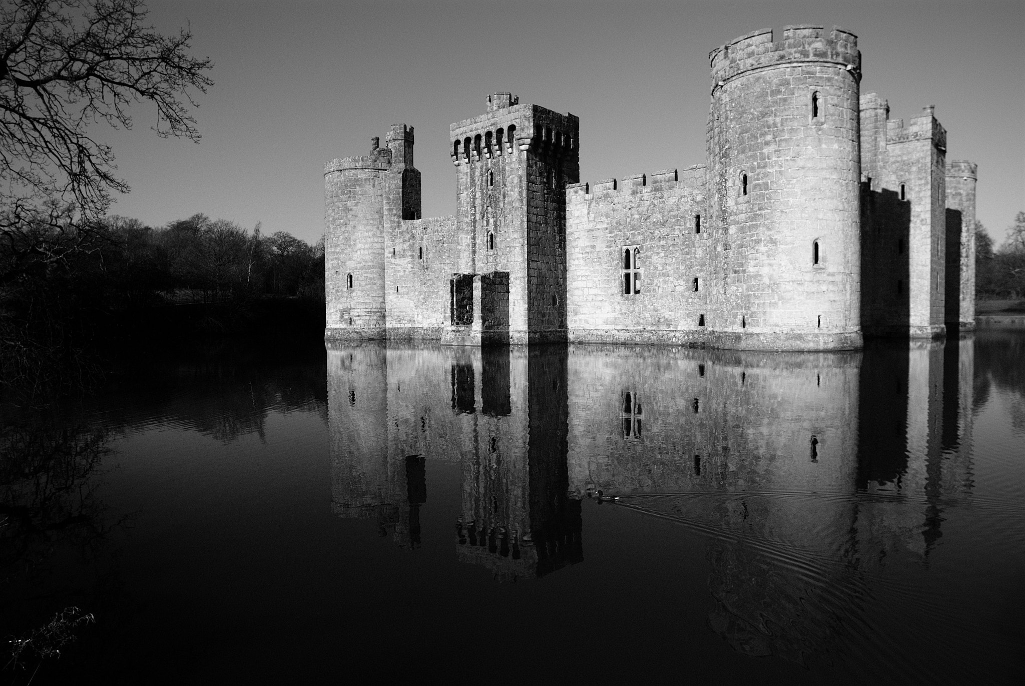Photograph Bodiam Castle by Bob Farrell on 500px