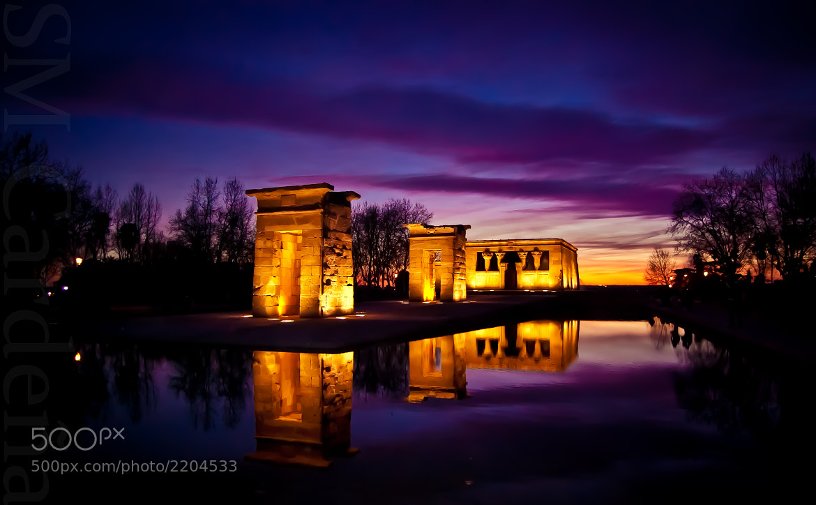 Photograph Templo Debod by Salvador  Martínez on 500px