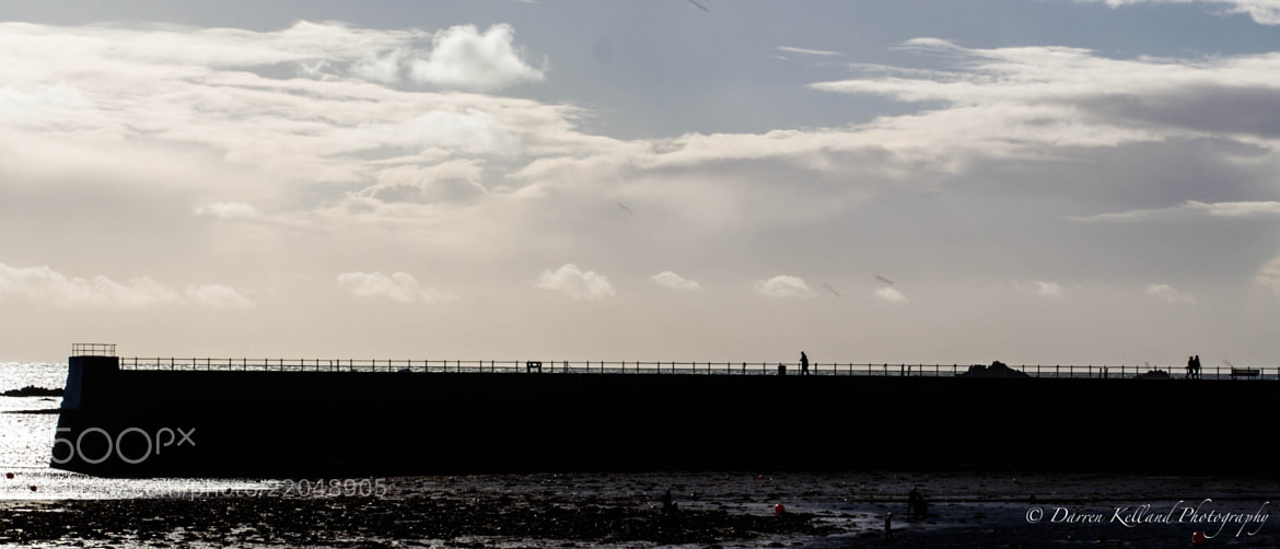 Photograph Along the pier by Darren Kelland on 500px