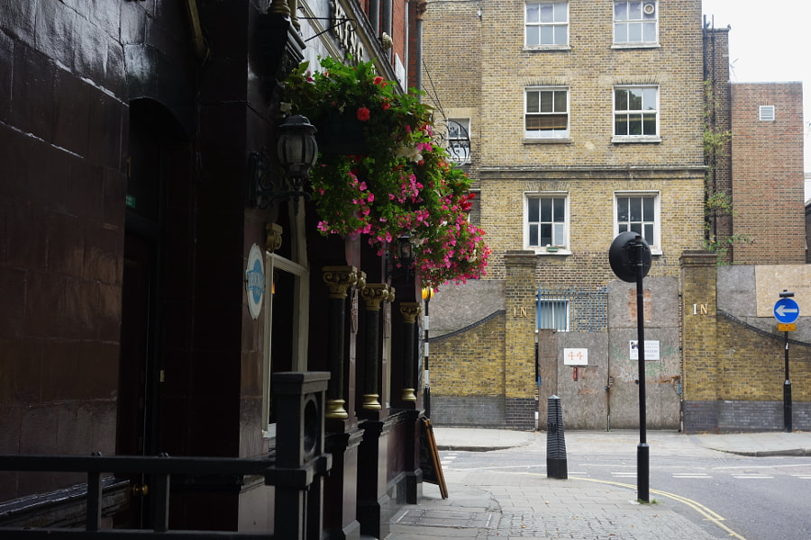 Streets of London, Cleveland St by Sandra on 500px.com