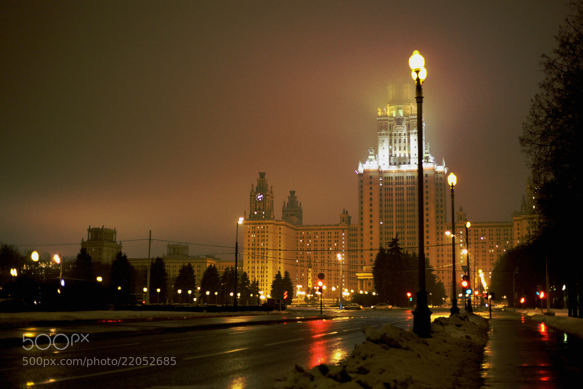 Photograph moscow state university by Too Awful :) on 500px