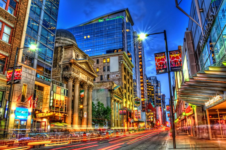 Photograph Toronto Street HDR by Marek Jencik on 500px