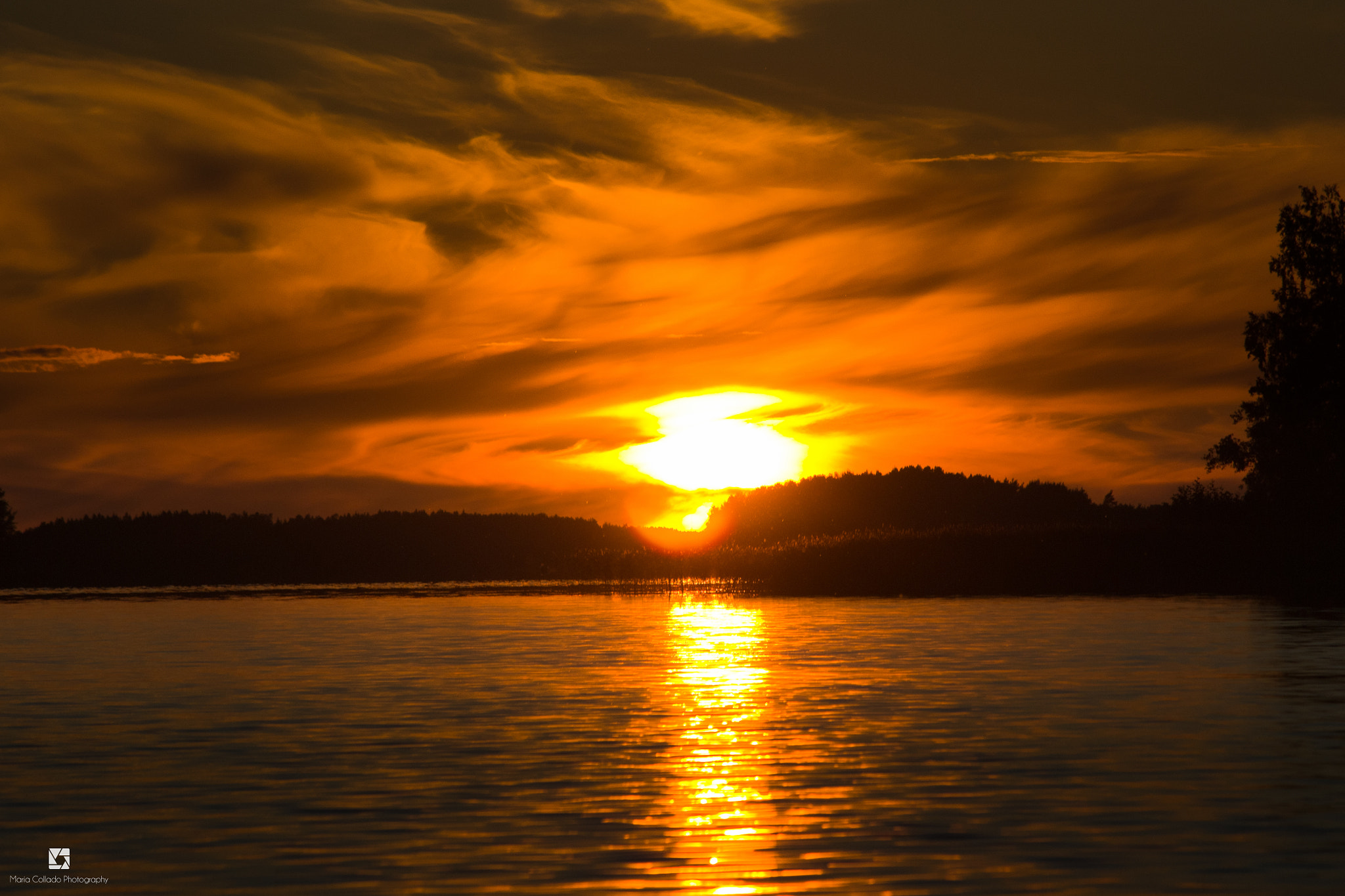 Photograph sunset by María Collado on 500px