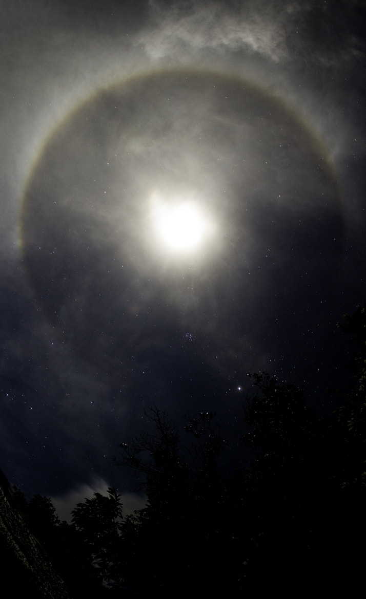 Photograph ///// Lunar Halo by Vian Esterhuizen on 500px