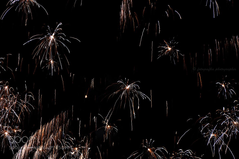 Photograph Fireworks rain by Anna Tyrała on 500px