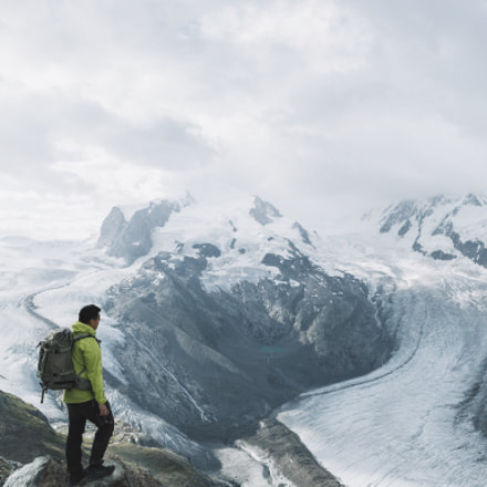 3300m high above the glaciers of Zermatt