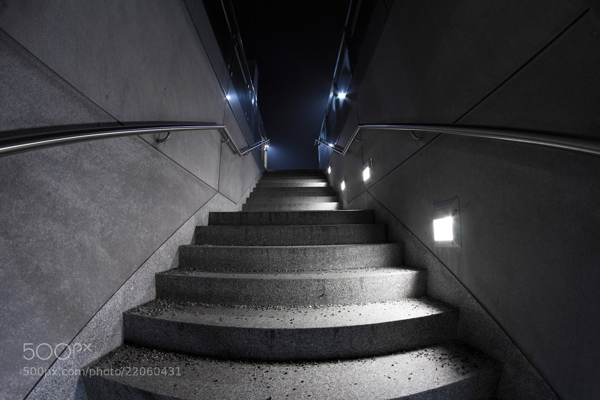 Photograph Modern Stairway by Thomas H. on 500px