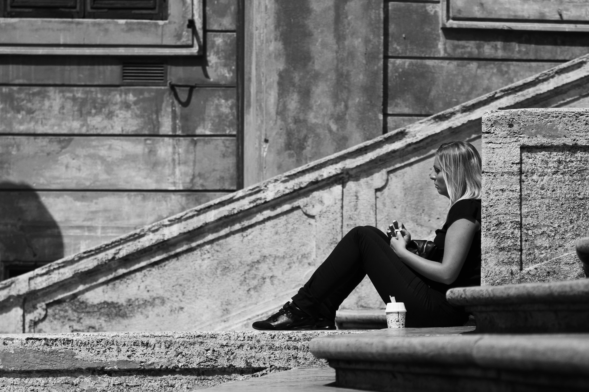 Photograph In her own thoughts by Petri Olderhvit on 500px