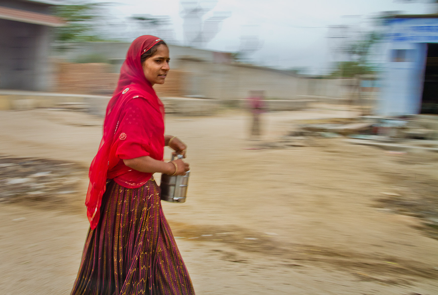 Photograph Colorful with Tiffin - India in Motion - Rajastan - India by Sandy Gennrich on 500px