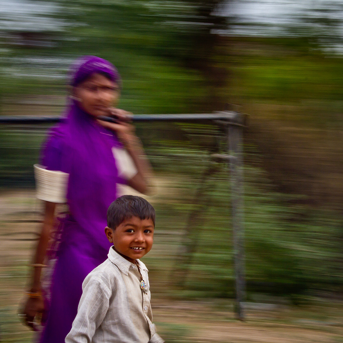 Photograph Happy Child - India In Motion - Rajastan - India by Sandy Gennrich on 500px