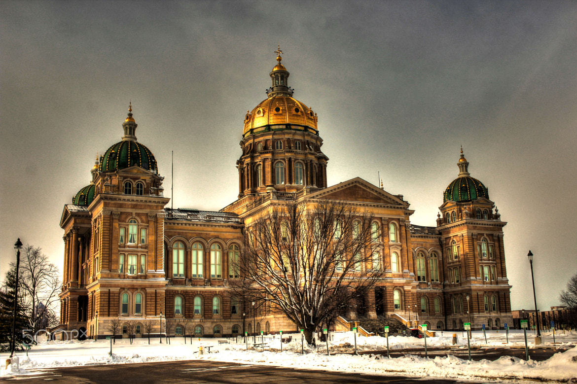 Photograph Iowa State Capitol by Alper Hayreter on 500px