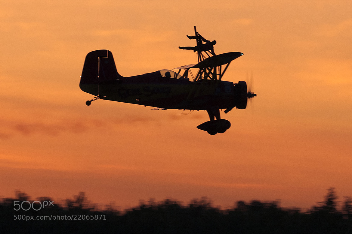 Photograph Wingwalking at Dusk by Clifford Martin on 500px