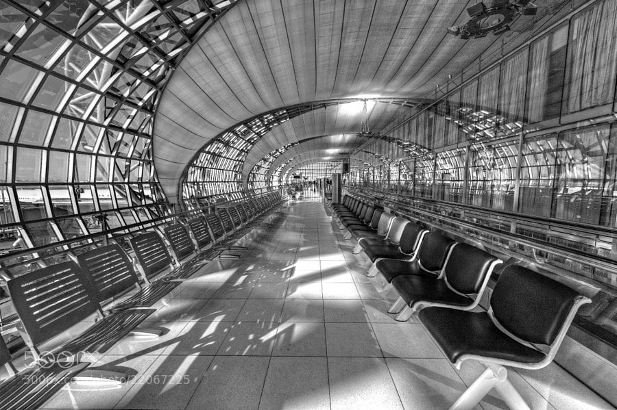 Photograph Suvarnabhumi Spiral (Alien Infrared Version) by Jon Sheer on 500px